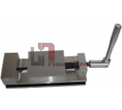 Тиски станочные неповоротные 7200-0205-02 (100мм) сталь, Бар.